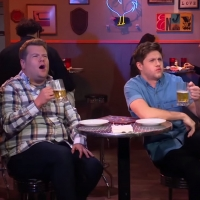VIDEO: Niall Horan & James Corden Take On HOT Wings