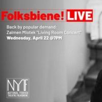 National Yiddish Theatre Folksbiene Presents: ZALMEN MLOTEK'S LIVING ROOM CONCERT Photo