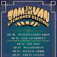 Jam In The Van Announces Speakeasy Sessions Photo