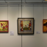 Scottsdale Public Art Exhibits Children's Book Art At Library Photo