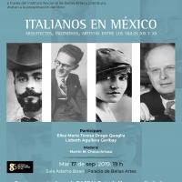 El libro Italianos en México. Arquitectos, ingenieros y artistas entre lossiglos XIX Photo