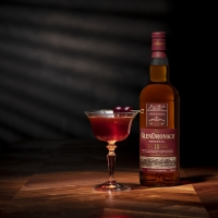 SCOTCHTOBER and Rob Roy Cocktail Recipe with The GlenDronach Original Photo