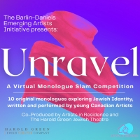 'The Barlin-Daniels Emerging Artists Initiative' Presents UNRAVEL: A VIRTUAL MONOLOGUE SLA Photo