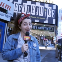BWW Exclusive: Allison Frasca Visits BEETLEJUICE on The Broadway Break(down)!