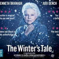 THE WINTER'S TALE, Starring Kenneth Branagh and Judi Dench, Returns to Cinemas this December
