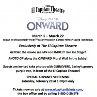 El Capitan Theatre Presents Disney And Pixar's ONWARD March 5-22 Photo