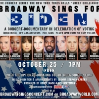 WATCH: BROADWAY SINGS FOR BIDEN Livestream Concert with Tamika Lawrence, Jessica Vosk Photo