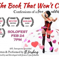 Whitefire Theatre's Solofest 2021 Presents THE BOOK THAT WON'T CLOSE - CONFESSIONS OF A LO Photo