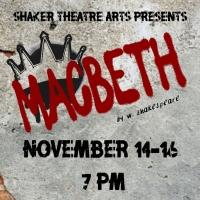 Shaker Theatre Arts Will Present MACBETH Photo