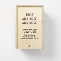 Jenny Holzer Launches URGE AND URGE AND URGE in Collaboration with the New York City  Photo