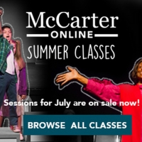 McCarter Theatre Offers Creative Theater Online Classes For All Ages Special Offer