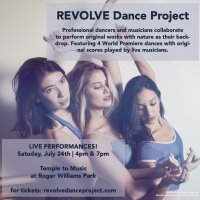 REVOLVE Dance Project Launches InauguralPerformance At Temple Of Music, Roger Williams Pa Photo