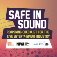 NIVA Announces 'Safe In Sound': A Reopening Checklist For The Live Entertainment Industry Photo