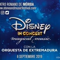 DISNEY IN CONCERT se representará en el STONE&MUSIC Festival de Mérida Photo