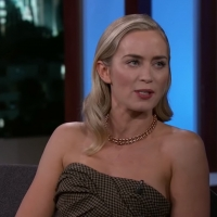 VIDEO: Emily Blunt Says She Was Almost a Pop Star on JIMMY KIMMEL LIVE