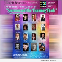 Ralph Brunson Debuts Witty Original Musical Comedy: SAMSON AND THE BURNING BUSH - A F Photo