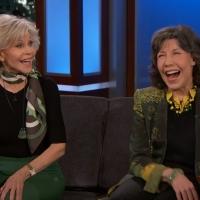 VIDEO: Jane Fonda & Lily Tomlin Talk GRACE AND FRANKIE on JIMMY KIMMEL LIVE! Video