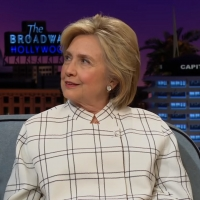 VIDEO: Hillary Clinton Gives Advice to Democratic Candidates on THE LATE LATE SHOW WI Video