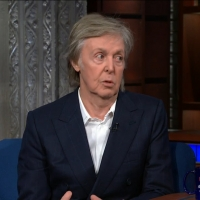 VIDEO: Paul McCartney Talks About John Lennon on THE LATE SHOW WITH STEPHEN COLBERT
