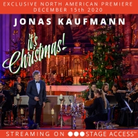 Jonas Kaufmann's IT'S CHRISTMAS! Streams In North America On Stage Access This Week Photo