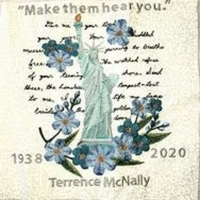 Terrence McNally Memorialized In California 8th Grade Student's 'Covid Memorial Quilt Photo