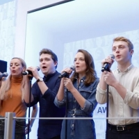 VIDEO: The West End Cast of DEAR EVAN HANSEN Perform at Flagship Microsoft Store in L Photo
