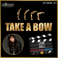 Lena Hall Joins TAKE A BOW Podcast Photo