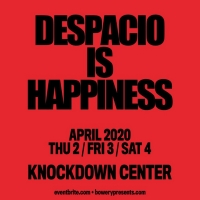 Despacio to Return to the Knockdown Center this April Photo