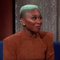 VIDEO: Cynthia Erivo Talks HARRIET and Her EGOT Status on THE LATE SHOW Video