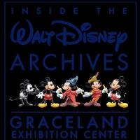 Go INSIDE THE WALT DISNEY ARCHIVES at Graceland Exhibition Center Photo