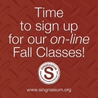 Singnasium Announces Online Fall Class Lineup With Nikki M. James, Michael Kilgore, K Photo
