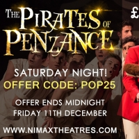 £25 Golden Tickets Released To Sasha Regan's All-Male THE PIRATES OF PENZANCE Photo