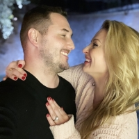 People Exclusively Shares Karen Waldrup's Engagement Story Photo