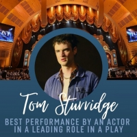 SEA WALL/A LIFE's Tom Sturridge Wins 2020 Tony Award for Best Performance by an Actor Photo