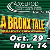A BRONX TALE to Reopen the Axelrod Performing Arts Center Photo