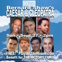 STARS IN THE HOUSE Will Present CAESAR & CLEOPATRA Featuring Robert Cuccioli, Mirirai Photo