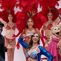 The Iconic Vegas Showgirl Makes A Comeback In BURLESQ Photo