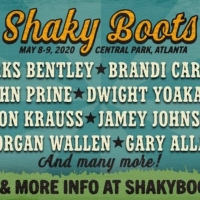 Brandi Carlile and Dierks Bentley to Headline Shaky Boots Music Festival 2020 Photo