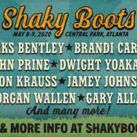 Brandi Carlile and Dierks Bentley to Headline Shaky Boots Music Festival 2020