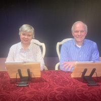 Blogging about LOVE LETTERS at Nutley Little Theatre - Director's Chat Photo