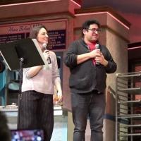 VIDEO: Surprise Proposal at Final WAITRESS Cast Album Karaoke Photo