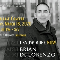 Brian De Lorenzo Debuts Second Solo Album with Concert in Cambridge