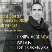 Brian De Lorenzo Debuts Second Solo Album with Concert in Cambridge Photo