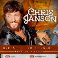 Chris Janson Announces 'Real Friends – Fall 2019' Tour