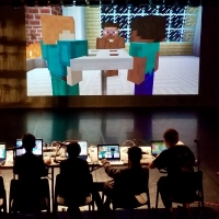 The Ballard Institute Presents PUPPETRY, GAME DESIGN, AND DIGITAL PERFORMANCE Puppet Forum Photo