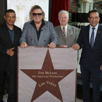 Don McLean Receives Star On Las Vegas Walk Of Stars Photo