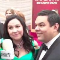 VIDEO: Kristen Anderson-Lopez and Robert Lopez Talk FROZEN 2, John Travolta, and More on the Oscars Red Carpet
