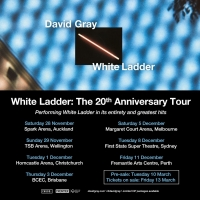 David Gray Announces AU-NZ Dates for 'White Ladder: The 20th Anniversary Tour' Photo