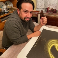 Lin-Manuel Miranda Launches New Soundwaves Art Collection To Raise Money For NoMAA Artist- Photo