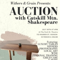 AUCTION WITH CATSKILL MTN. SHAKESPEARE to Take Place This Friday Photo